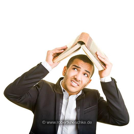 Buch als Dach