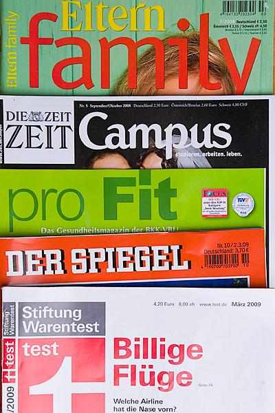 Zeitschriften-Titel
