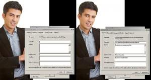Foto mit und ohne IPTC-Daten