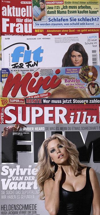 Cover der Zeitschriften