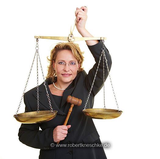 Gerechte Richterin