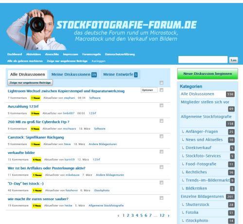 Das Beste aus dem Stockfotografie-Forum – März 2013