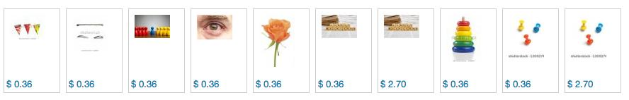 Übliche Verkaufserlöse bei Shutterstock