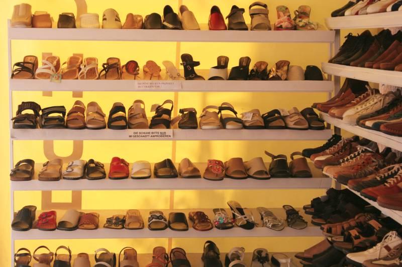 Schuhe für Touristen