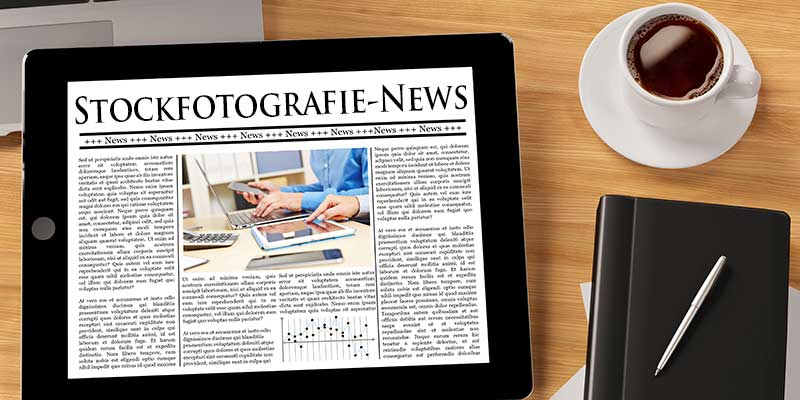 Stockfotografie-News Header